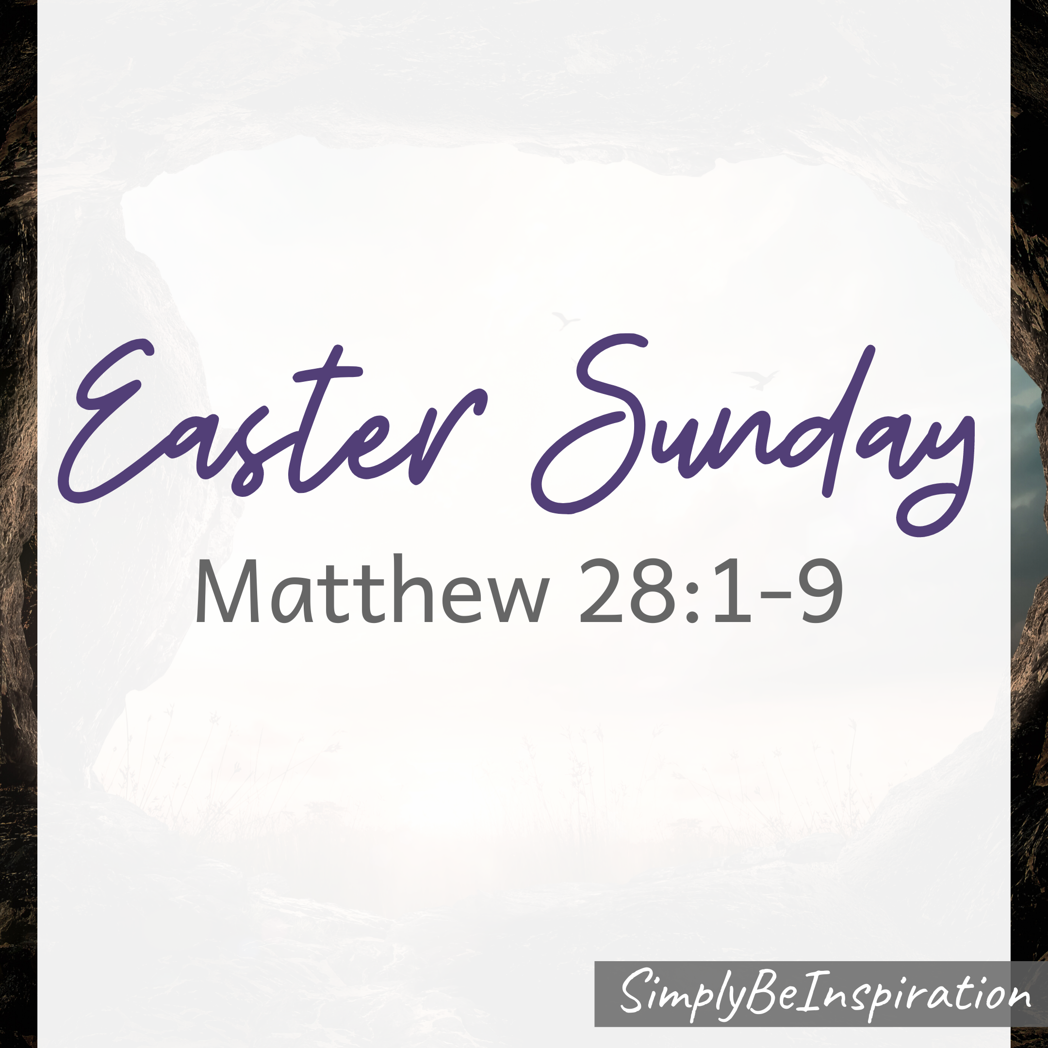 Easter Sunday Matthew 28:1-9