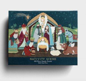 Beautiful Christmas Nativity Puzzle for Families