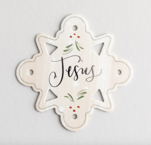 Christmas Ornaments Pop Out from Christmas Devotional Books