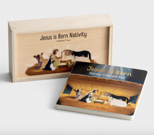 Simple Advent Calendar Nativity Set for Kids