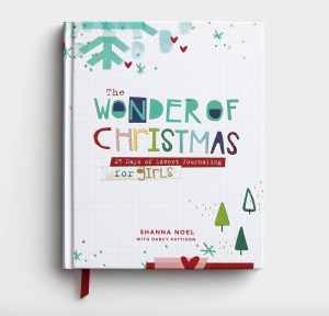 The Wonder of Christmas - Simple Chrismas Devotional Book for Girls