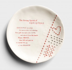 Christmas Gift Giving Plate - The Sharing Plate