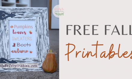 Fall Printables for FREE