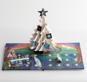 Pop up Advent Christmas Tree Book