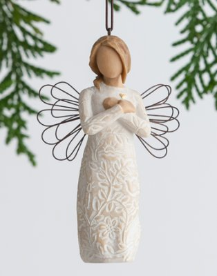 Remembrance Angel Christmas Ornament