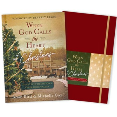 When God Calls the Heart Christmas Devotional Book