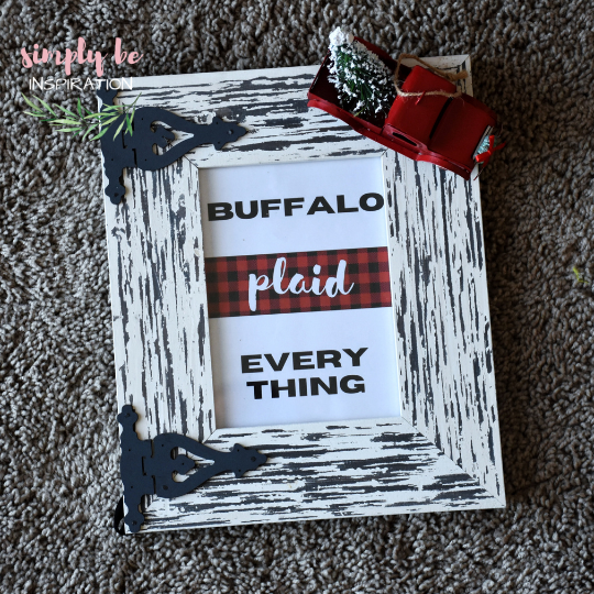 Buffalo Plaid Home Decor Printable