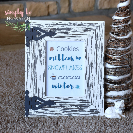 Cookies Mittens Winter Printable