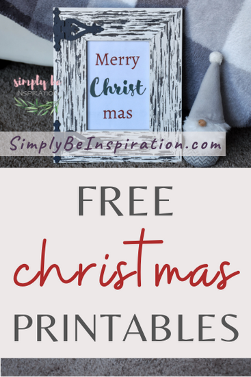 Free Winter Printables & Christmas Printable Decor